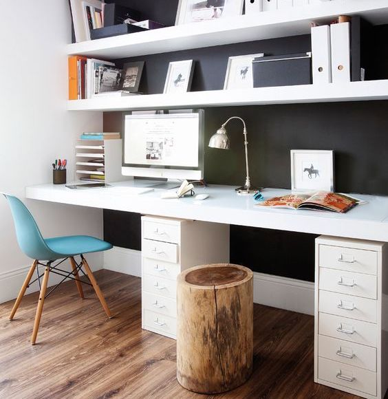 mes conseils pour am nager une pi ce en bureau de travail. Black Bedroom Furniture Sets. Home Design Ideas