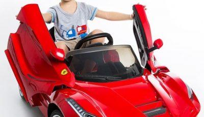 voiture électrique ferrari enfant